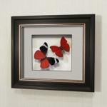 Бабочка Оживший цветок Панацеи и бабочка Летающий самоцвет, арт.: 169в