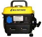 Генератор бензиновый Champion GG 950 DC, 720 Вт, 2 л.с, 63 куб.см, 0.7 л/ч, 4.2 л, 19 кг