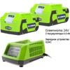 Greenworks 24V LUX �������� (�������� + 2 ��� 4,0 �.�)