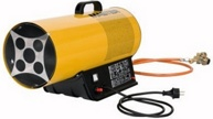 Пушка газовая тепловая Master BLP 16, 16 кВт, 0,7 бар, 1,16 кг/ч, 5,9 кг