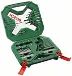 Набор оснастки Bosch X-Line в чемодане, 60 предметов, код 2607010611