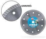 Алмазный диск по граниту и плитке SAMURAI 230*8*1,8*30/25/22,23