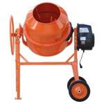 Бетономешалка (бетоносмеситель) Skiper СМ-260, 1.3 кВт, 220В, 170 л, лопата совковая в подарок