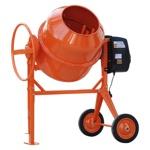 Бетономешалка (бетоносмеситель) Skiper СМ-300, 2 кВт, 220 В, 200 л, лопата совковая в подарок