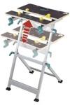 Верстак Wolfcraft Master 600 (6182000) зажимной и рабочий стол, до 120кг, 435 мм, 16,0 кг